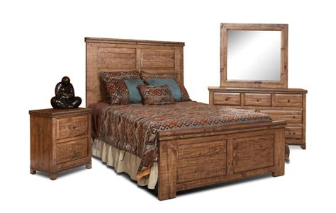 rustic bedroom set rustic pine bedroom set pine wood