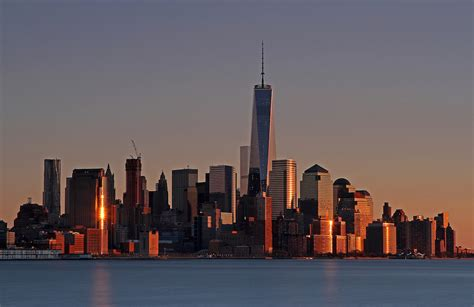 sunset new york city skyline photography juergen roth