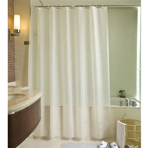 extra large shower curtain fabric shower curtain plain white extra wide extra long