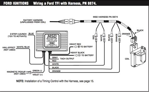 msd 6al box wiring diagram msd 5 wiring diagram ford ignition system wiring diagram mifinder co