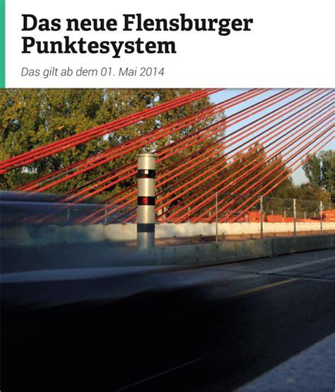 ab wann punkte in flensburg bussgeldkatalog