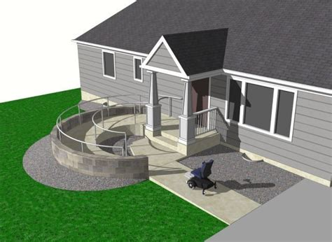 maine home and design jobs 8 best concrete wheelchair rs images on pinterest