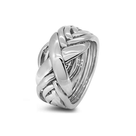 womens silver 8rx l puzzle rings creations