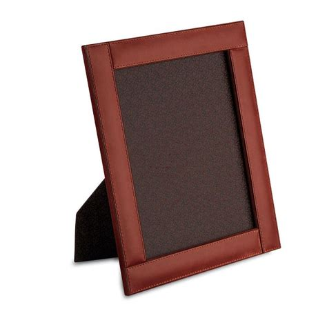 desk picture frames pineider power elegance leather picture frame large
