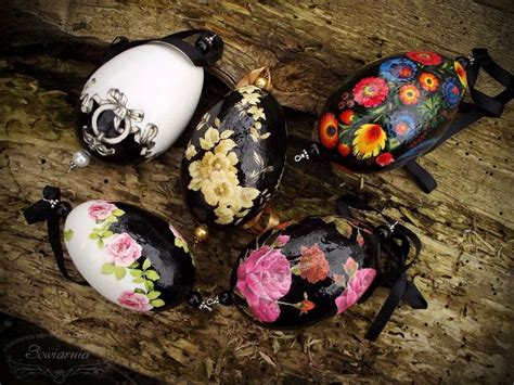 Decoupage Easter Eggs - 17 best images about easter decorations on