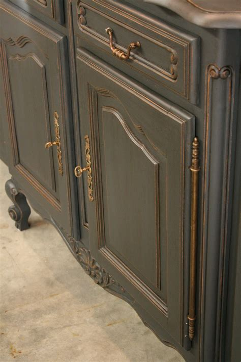 chalk paint graphite reloved rubbish graphite buffet