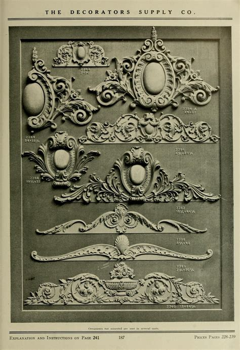 cenefas metalicas illustrated catalogue of period ornaments for f