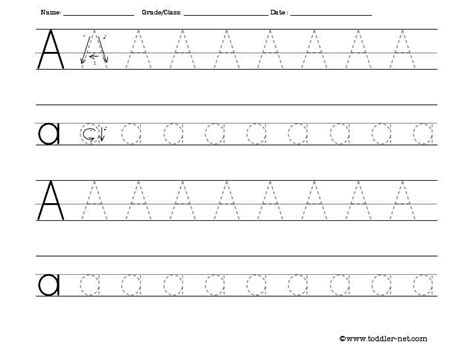 make a printable alphabet letter tracing worksheets free activity sheets for letters numbers shapes and