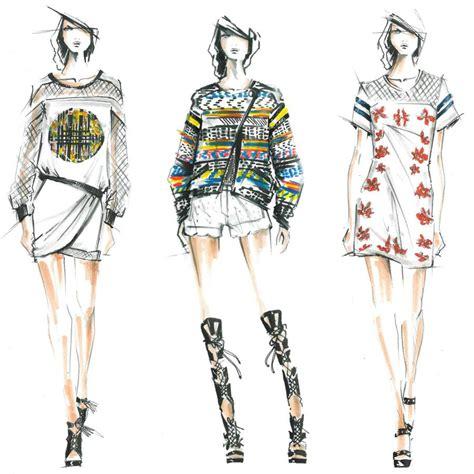 fashion illustration winter wear nikkistyle mercedes fashion week nyc