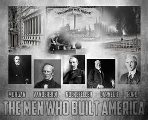 The men who built america is a piece of digital artwork by peter