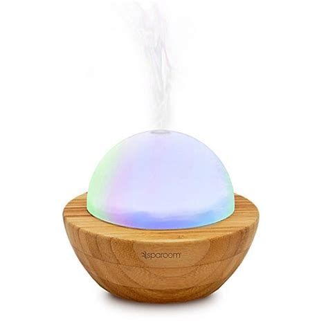 bed bath and beyond aromatherapy sparoom 174 bamboo ultrasonic aromaglobe aromatherapy
