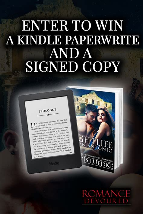 win a kindle signed by kindle contest win kindle paperwhite ereader free book