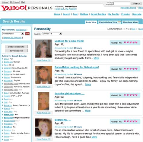 Yahoo personal dating service 20