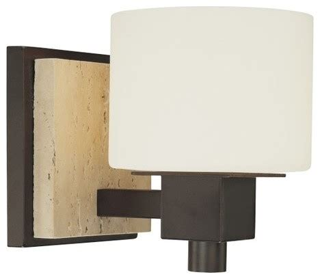 minka lavery 6151 244 travertine 1 light 6 5 quot height