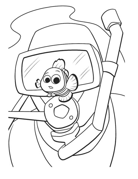 Nemo Coloring Pages Coloring Pages To Print Coloring Pages Nemo