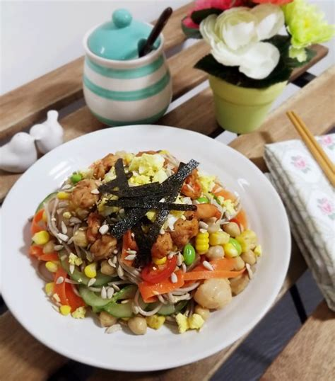 kewpie noodles soba noodle salad recipe and kewpie sesame soy sauce