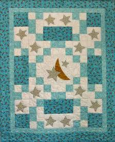 sweet dreams baby quilt with moon and so sweet