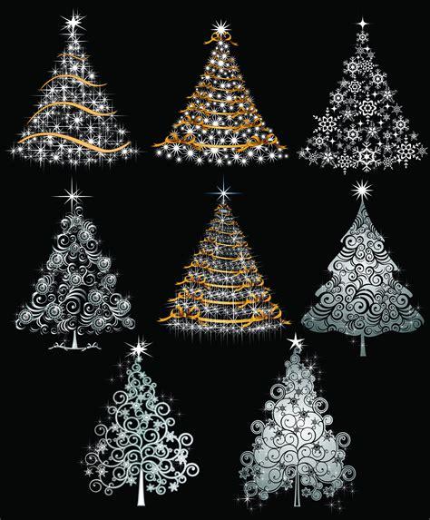 digital christmas tree tree digital clipart tree clip printable