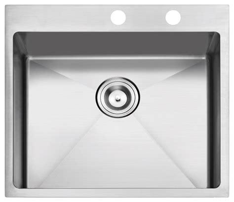 overmount kitchen sinks stainless steel overmount stainless steel 2 kitchen sink modern