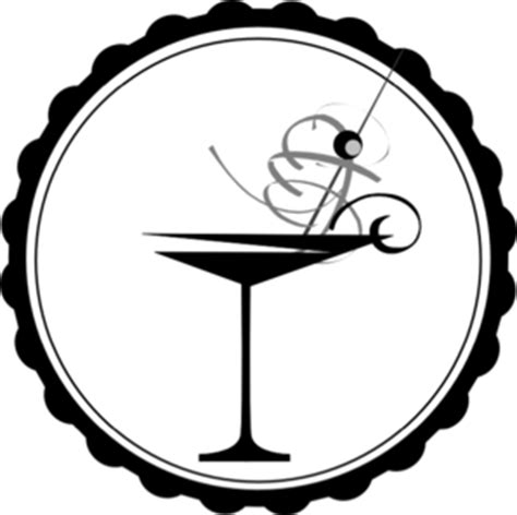 cocktail clipart black and white glass of water clipart black and white clipart panda