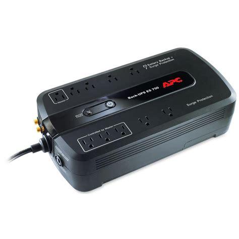 apc 750va ups battery backup be750g the home depot