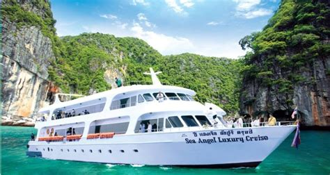 boat to angel island phi phi island by cruise