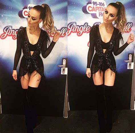 Edwards Gets The Idol Boot by Perrie Edwards Dress Performance Stage