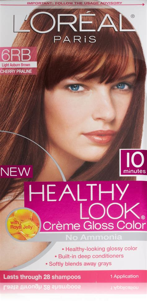 healthy look hair color l oreal healthy look creme gloss hair color