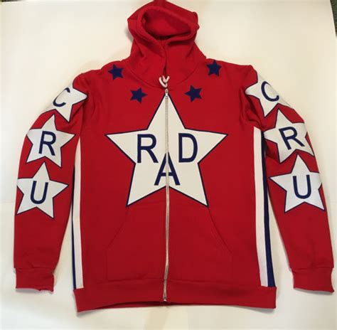 Hoodie Rad Racing 1 Rad Cru Jones Helltrack Replica Hoodie Rad Racing Bmx 80 S
