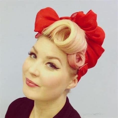 Pin Up Hairstyles Hair by 50 Pin Up Hairstyles For Retro Glam Hair Motive Hair Motive