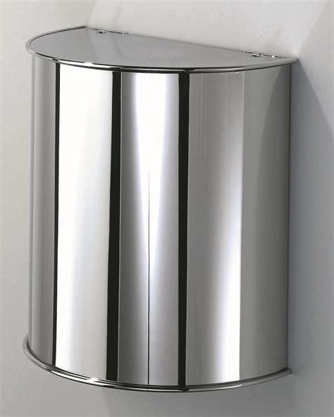 bathroom trash bin steel bathroom waste bin dw 31 by decor walther