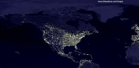 world map city lights nasa space maps page 2 pics about space