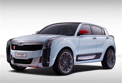 koenigsegg suv qoros 2 suv phev concept at 2015 auto shanghai photos