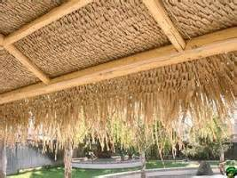 Tiki Hut Toronto Thatch And Tropical Matting Bamboo Toronto