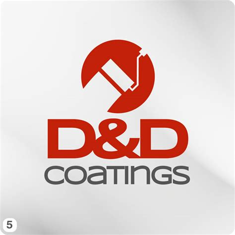 design a logo using paint painting company logo design for d d coatings