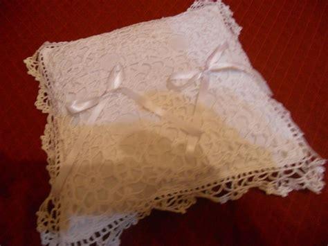 cuscino portafedi uncinetto cuscino portafedi realizzato all uncinetto i miei
