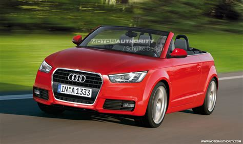 Audi Cabrio A1 by Rendered 2011 Audi A1 Convertible