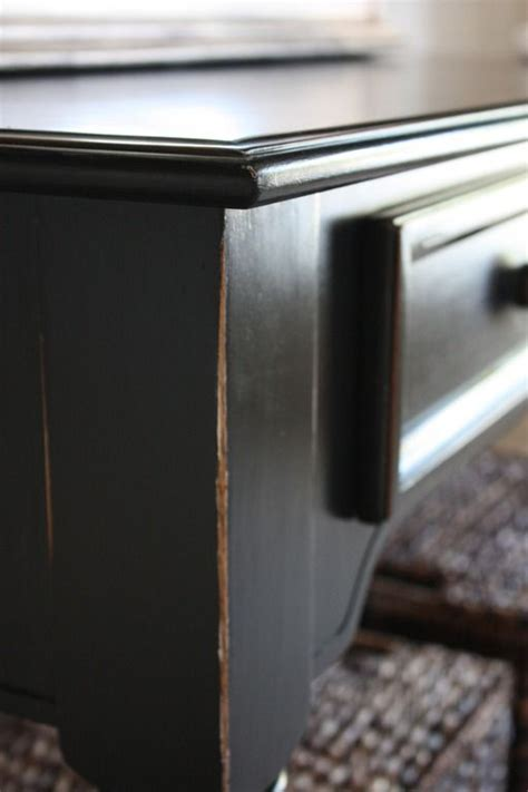 furniture that looks like pottery barn beautiful black finish tutorial that looks like the