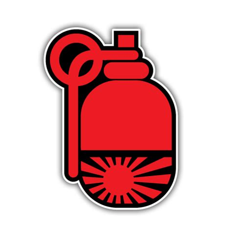 Sticker Mobil Jdm Fly Stiker Cuttin Kaca 10 Cm Min 2 Pcs rising sun jdm grenade sticker oilcan stickers