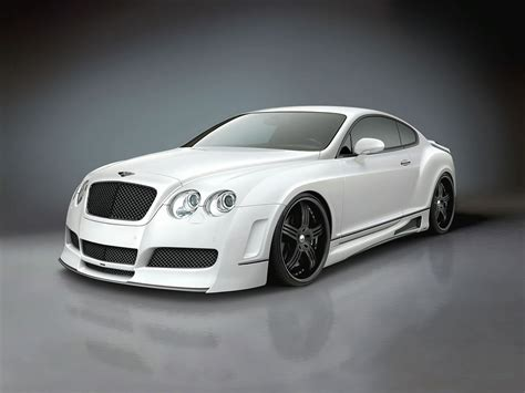white bentley tuning cars and news bentley continental custom