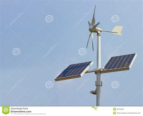 solar power for domestic use domestic solar power unit royalty free stock images image 20103239