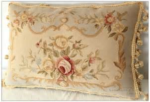 22 quot x14 quot aubusson pillow shabby chic sofa chair
