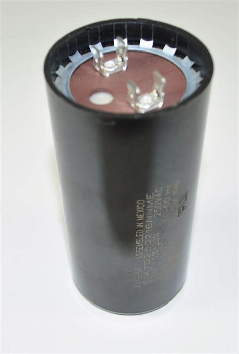testing a compressor start capacitor e106029 start capacitor aircompressorpartsonline