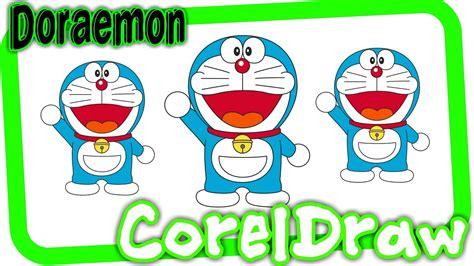 cara membuat lu tidur gambar doraemon cara membuat gambar doraemon dengan coreldraw youtube