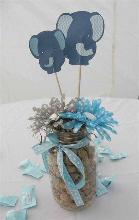 jaylies baby shower centerpieces baby shower elephants