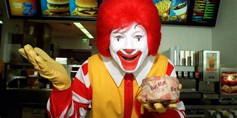 ronald donald why you never see ronald mcdonald mcdonald s food huffpost