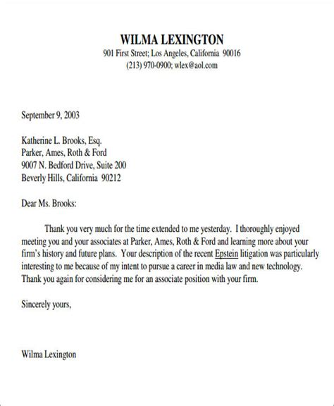 thank you letter exles post 7 sle post thank you letters free sle