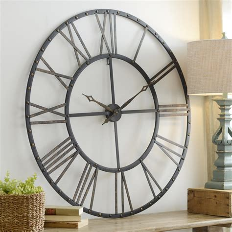 large wall open clock blank walls open and clocks