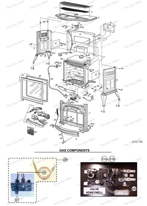 Vermont Castings Gas Fireplace Parts by Radiance Rnv40 0002780 0002785 2780 2785 The Cozy