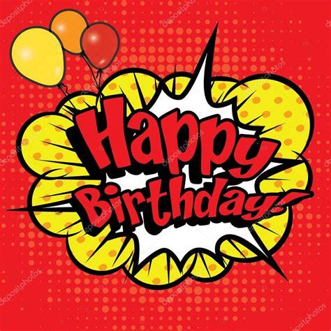 imagenes pop art sin copyright pop art comics quot happy birthday quot archivo im 225 genes